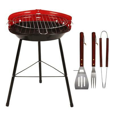 $ CDN20.67 • Buy 14  Inch Round Barbecue Portable Bbq Grill Outdoor Charcoal Patio Cooking Picnic
