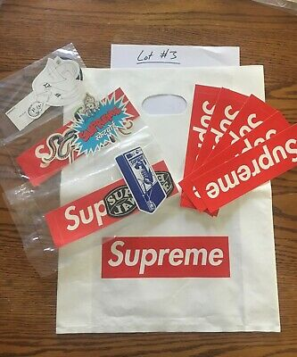 $ CDN31.57 • Buy Supreme Sticker Pack. 100% Authentic. 3 X 3 Sticker Packs + 5 Box Logos. Lot #3
