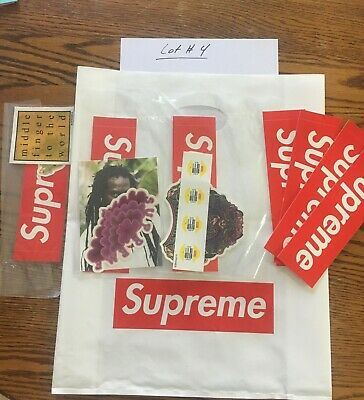 $ CDN31.57 • Buy Supreme Sticker Pack. 100% Authentic. 3 X 3 Sticker Packs + 4 Box Logos. Lot #4