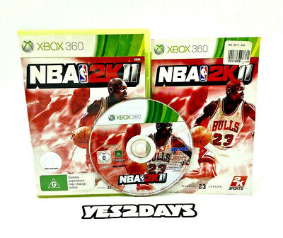 AU14.99 • Buy NBA 2k11 Xbox 360 GAME FULLY RESTORED Mint Disc Complete With Manual Xbox 360