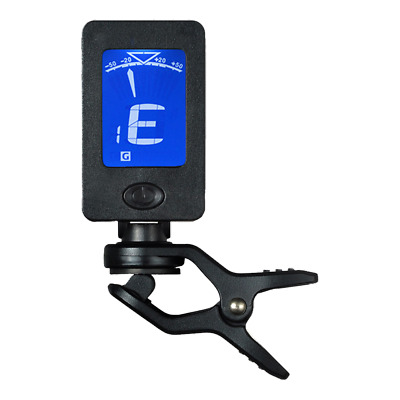 AU19.99 • Buy Chromatic Guitar Tuner Violin Ukulele Bass LCD Electronic Digital Clip On