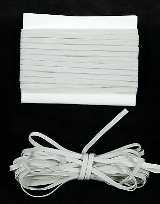$ CDN12.63 • Buy Elastic Band 1/4 Inch Width (6mm) Braided Off White 10-Yard Bundle FREE SHIPPING