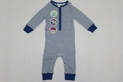 AU17.95 • Buy Brand New Country Road Baby Boys Stripe Jumpsuit Size 0-3m 3-6m