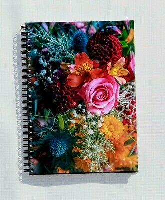 A5 Hardback Notebook Journal Notepad Office School Diary Various  • 4.22£