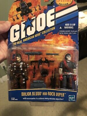 $ CDN59.32 • Buy G.I. Joe  25th Anniversary Action Figures Lot Major Bliss And Rock Viper