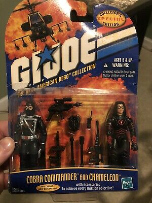 $ CDN65.91 • Buy G I Joe  25th Anniversary Action Figures Lot Cobra Commander And Chameleon