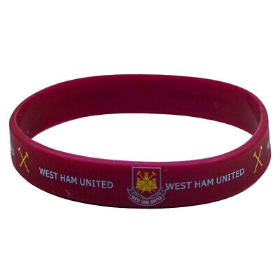 Official West Ham United Fc Silicone Wristband • 1.75£