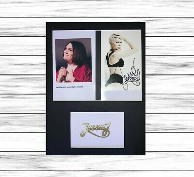 Jessie J HAND SIGNED ORIGINAL Mounted Display With COA • 39.98£