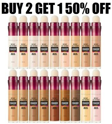 $8.99 • Buy Maybelline Instant Age Rewind Eraser Dark Circle Concealer (Choose A Shade)