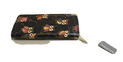 Ladies Women's Purse Wallet Owl Design Lots Of Compartments For Cash Notes Card  • 5.30£