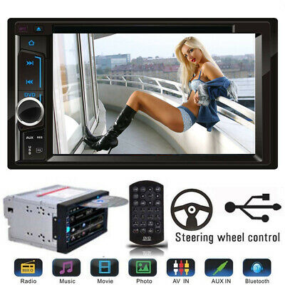 $117.89 • Buy For Cadillac CTS SRX  2003-2007 Car Stereo Radio DVD CD Player AUX Bluetooth USB