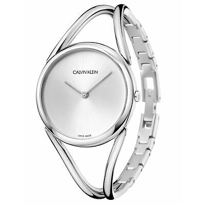 £186 • Buy Calvin Klein KBA23126 Women's Lady Silver Tone Wristwatch