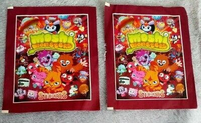 £1 • Buy 2 Packs Of Topps Moshi Monsters Stickers Red Sticker Collection Brand New Sealed