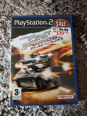 The Fast And The Furious Ps2 • 8.99£