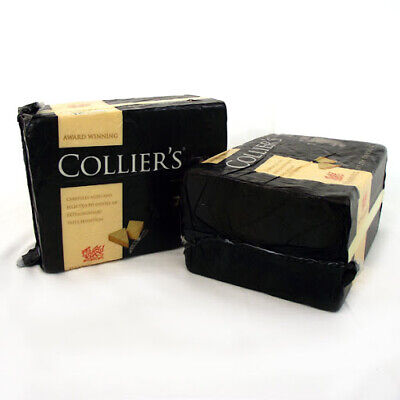 £14.27 • Buy Collier's Powerful Welsh Cheddar Cheese Approx 1.2kg