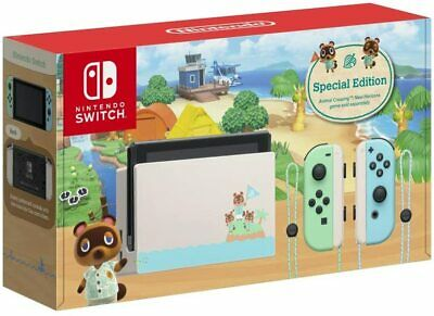 AU545 • Buy Nintendo Switch Console - Animal Crossing New Horizons Edition (FREE EXPRESS)