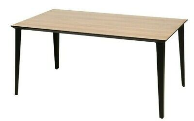 BRAND NEW Industrial Rustic Reclaimed Style Dining Table With Black Metal Legs • 9,999£