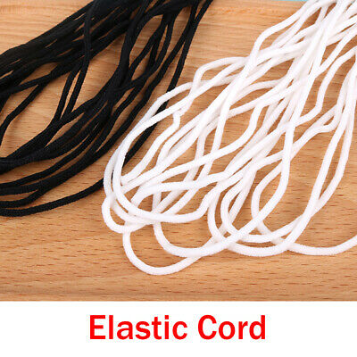 $ CDN23.22 • Buy 5mm Round Stretch Band Elastic Cord Ropes Material Costume Clothing Crafts Multi