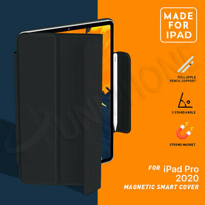 AU23.88 • Buy 【Magnetic】iPad Pro 11  12.9  Inch 2020/2018 Slim Smart Cover Leather Stand Case