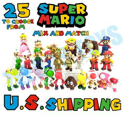 $10.72 • Buy PICK & CHOOSE: High Quality 3-6  Super Mario Action Figures Poseable PVC Figures