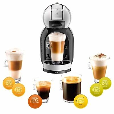 $75.55 • Buy Nescafe Dolce Gusto Krups Mini Me Coffee Pod Machine - Silver & Black