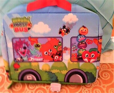 Moshi Monsters Storage Bag Toy With Moshi Bus Used • 3£