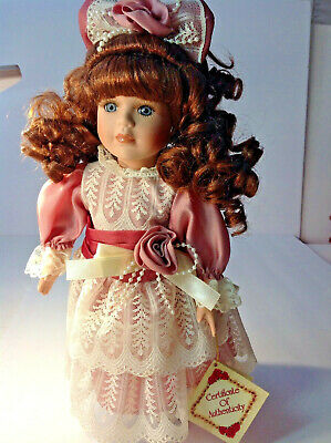 $ CDN31.11 • Buy Victorian LACED Girl Porcelain Doll 13 IN  Collector's Choice By Dandee VINTAGE