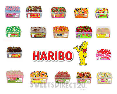 £7.20 • Buy 1 X Full Tub Haribo Sweets Wholesale Discount Candy Box Party Favours Treats