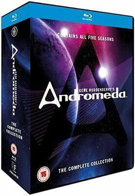 £43.15 • Buy ANDROMEDA The Complete Collection Blu-Ray Box Set BRAND NEW Free Ship