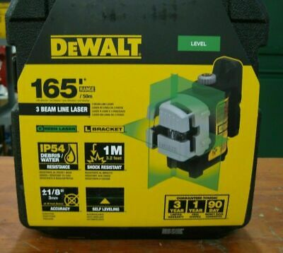 $457.77 • Buy DEWALT DW089CG 3 Line Self Leveling Green Laser DEW-DW089CG NEW SEALED