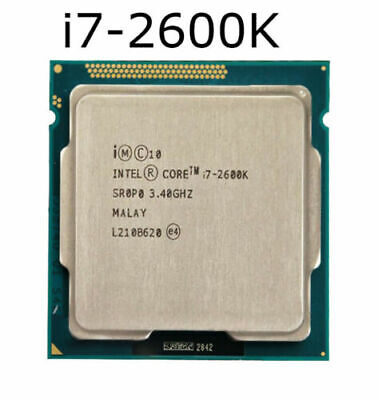 Intel I7-2600K 3.4GHz LGA 1155 32nm QUAD-CORE 8M Core I7 2nd Gen CPU Processors • 76£