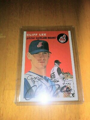 $9.99 • Buy Cliff Lee 2003 Topps Heritage Signed Auto AUTOGRAPH INDIANS PHILLIES