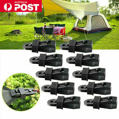 AU19.99 • Buy 20pcs Awning Tent Clamp Tarp Clips Camping Plastic Canopy Buckle Heavy Duty AU