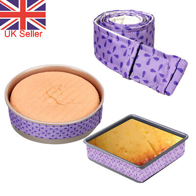 2Pcs Wilton Bake-Even Strips Belt Bake Even Bake Moist Level Cake Baking Tool UK • 5.13£