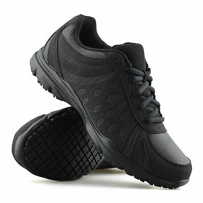 Ladies Womens Wide Fit Casual Lace Up Non Slip Walking Work Trainers Shoes Size • 16.98£