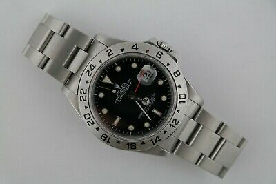 $ CDN8421.05 • Buy Men's Rolex Explorer II 16570 Black Dial Stainless Steel Oyster Band Circa 1990
