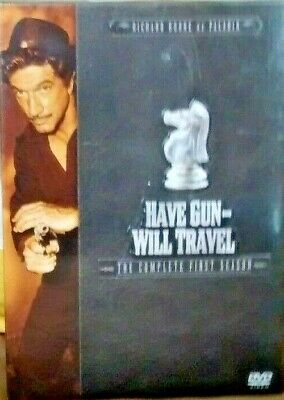 $15.50 • Buy HAVE GUN - WILL TRAVEL: The Complete First Season [New DVD]