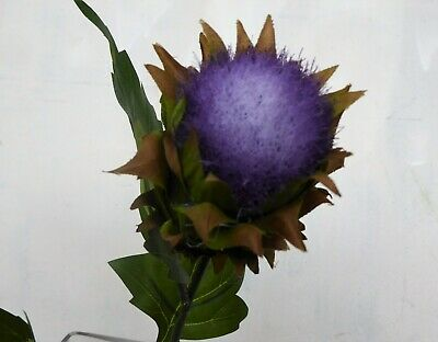 £6 • Buy Purple Scottish Thistle Flower Artificial Faux Silk For Bouquets Or Birthdays