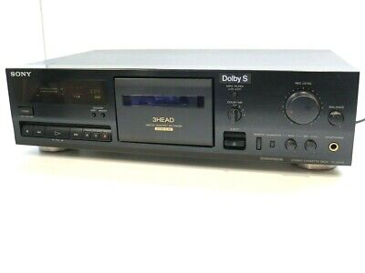 £229 • Buy SONY TC-K511S 3 HEAD Stereo Cassette Tape Deck With Dolby S - Serviced & Working