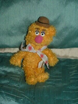 £3.99 • Buy Disney The Muppets Small 8.5  Fozzie Bear Plush Beanie Soft Toy  By Sababa Toys