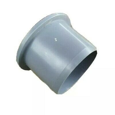 50mm Soil Pipe Vent Pipe Socket Plug Cap Blank End GREY Waste Fitting • 3.90£