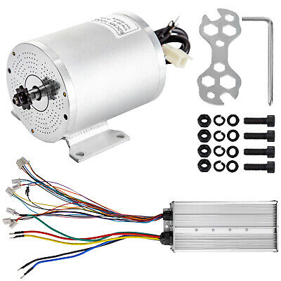 $197 • Buy Brushless Electric Motor Controller 60V 3000W BLDC Stable Go-kart Bicycle PRO