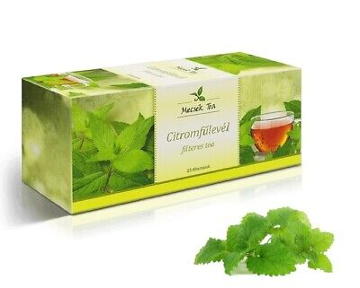 Lemon Balm Natural Premium Herbal Tea 25 Teabags - Melissae Folium • 4.49£