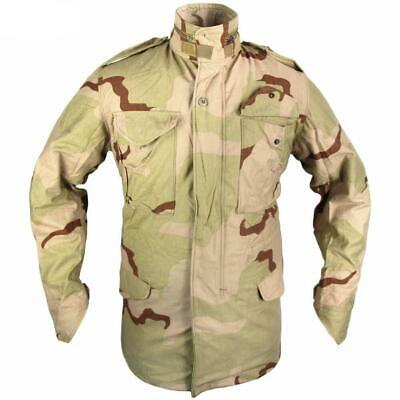 AU58.50 • Buy US Issue Desert M65 Camouflage Camo Combat Hunting Field Army Military Jacket