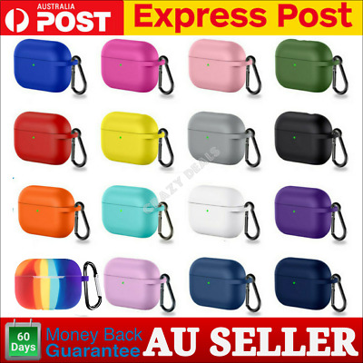 AU6.90 • Buy Silicone Case For Apple Airpods Pro Generation Protective Case Air Pods Pro V3