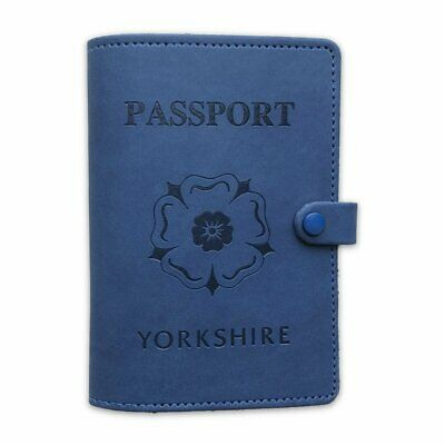Yorkshire Faux Leather Passport Cover - Great Gift! - Travel • 9.95£