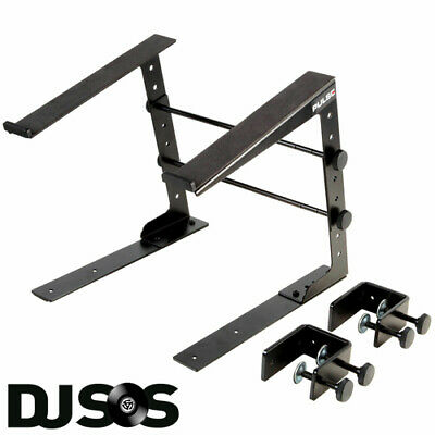 Pulse Universal Laptop Stand, Ideal For DJs And Musicians W/ Desk Clamps • 19.89£