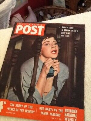 Picture Post Vintage Magazine18th April 1953  • 6£