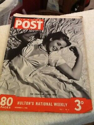 Picture Post Vintage Magazine 5 Th November 1938  • 8£