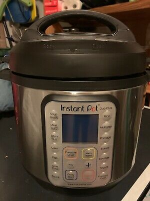 $90 • Buy Instant Pot 8 Quart Duo Plus Opened Box Never Used